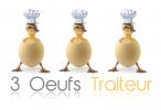 3 OEUFS TRAITEUR - BUFFET 16 €