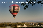 Montgolfière publicitaire et animation montgolfière