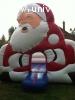 chateau gonflable Père Noël