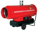 Chauffage air pulsé mobile fuel
