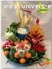 Des buffets colorés et vitaminés