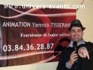 "DJ, Animation Yannick Tisserand ""Ambiance assurée"""