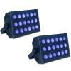 LOC Pack 2 lumière noire 18X3 W