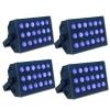 LOC Pack 4 lumière noire 18X3 W