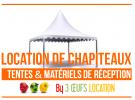 LOCATION CHAPITEAU TENTE 8.30 € le m2