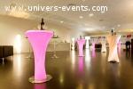 Location de mobilier - Salons, Congrès, Evénements