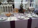 location de vaisselle pour votre réception