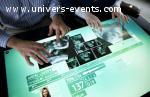 Location pour Evenement table Tactile SUR40
