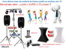 Location Sono Sonorisation Enceinte amplifiée 500 à 1400 W