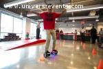 Prestation événementielle sur hoverboard