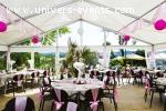 Restaurant avec espaces de réceptions