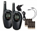 Talkie Walkie MT600 - 8 canaux 5 Km - Cobra - Location