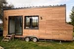 Tiny House sur roulotte de 7,2m