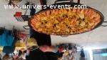 Traiteur Poelon géant paella tartiflette