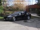 transport haut de gamme en berline de luxe