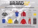 Vêtements personnalisés/logotés