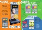 Location bornes de jeu / bornes interactives