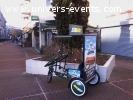 tricycle pub 1990€ HT